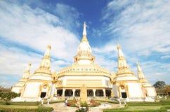 Wat Pha Nam Yoi, Pha Nam Yoi temple, Roi Et Thailand, Phra Maha Chedi Chai Mongkol Stock Image