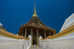 Wat Pha Phutthabat. Wat Pha  Phutthabat is the temple of Buddha's footprint Royalty Free Stock Image
