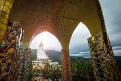 Wat Pha Sorn Kaew寺庙 库存图片