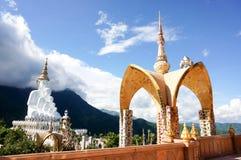 Wat Pha Sorn Kaew bei Phetchabun, Thailand Lizenzfreie Stockfotos