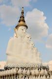 Wat Pha Sorn Kaew dat ook als Wat Phra That Pha Kaew wordt bekend, is een Boeddhistische klooster en een tempel in Phetchabun, Th Stock Afbeeldingen