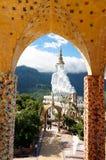 Wat Pha Sorn Kaew på Phetchabun, Thailand Royaltyfri Foto