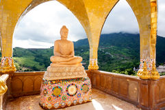 Wat Pha Sorn Kaew at Phetchabun, Thailand stock photo