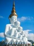 Wat Pha Sorn Kaew (tempel på en hög glass klippa) Royaltyfria Foton