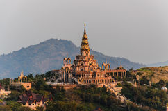 Wat pha sorn kaew ,Temple in Thailand Royalty Free Stock Photo