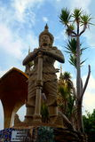 Wat Pha Sorn Kaewn Vessavana ο φύλακας του Βορρά Στοκ φωτογραφία με δικαίωμα ελεύθερης χρήσης