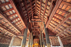 Wat pha tat je-di luang in lampang, thailand Stock Photo
