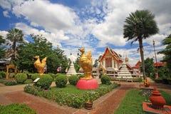 Wat Phai Lom at Koh Kret in Nonthaburi Royalty Free Stock Photos