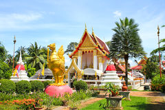 Wat Phai Lom Temple Royalty Free Stock Photography