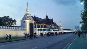 Wat phakeaw på Thailand Royaltyfri Fotografi