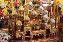 Wat Phan An - Chiang Mai - Thaïlande Stock Afbeelding