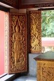 Wat Phan An - Chiang Mai - Thaïlande Fotografering för Bildbyråer