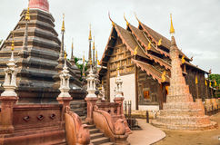 Wat Phan Tao. A chedi locate in Wat Phan Tao, Chiang Mai, Thailand Royalty Free Stock Photography