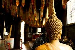 Wat Phan Tao Chiang Mai Thailand Arkivfoto