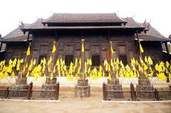 Wat Phan Tao in Chiang Mai, Thailand Stock Image