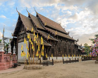 Wat Phan Tao in Chiang Mai, Thailand Stock Images