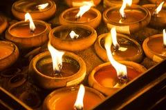 Wat Phan Tao, Chiangmai, Tailândia imagem de stock royalty free