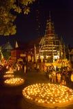 Wat Phan Tao, Chiangmai, Tailândia Fotografia de Stock