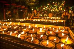 Wat Phan Tao, Chiangmai, Tailândia fotos de stock