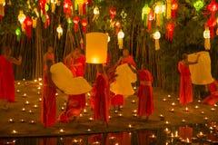 Wat Phan Tao, Chiangmai, Tail?ndia fotos de stock