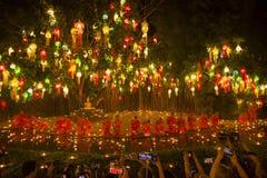Wat Phan Tao, Chiangmai, Thaïlande photographie stock