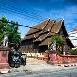 Wat Phan Tao em Chiang Mai Foto de Stock