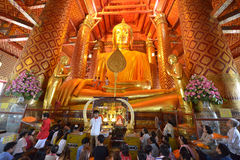 Wat Phanan Choeng, Ayutthaya, Thailand Royalty Free Stock Image