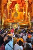 Wat Phanan Choeng, Ayutthaya, Thailand Royalty Free Stock Photo