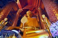 WAT PHANAN CHOENG. AYUTTHAYA Thailand TEMPLE IN THE HISTORICAL CITY OF AYUTTHAYA, EXCURSION FROM BANGKOK stock photos