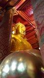 Wat Phananchoeng in Ayutthaya city. Phra Chao phananchoeng,a large sitting Buddha constructed of brick and mortar Royalty Free Stock Photos