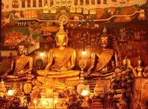 Wat, Phananchoeng, Ayutthaya, Tailandia Foto de archivo libre de regalías