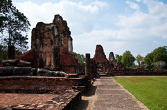 Wat phapayluang sukhothai in thailand Royalty Free Stock Photography