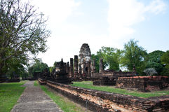 Wat phapayluang sukhothai in thailand Royalty Free Stock Images