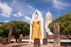 Wat Phar Sri Rattana Mahathat Templo, Phitsanulok en Tailandia Fotografía de archivo