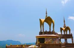 Wat Phasornkaew är ett ställe för meditation Royaltyfria Bilder