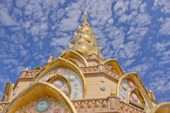 Wat Phasornkaew in Khao Kho, Phetchabun Royalty Free Stock Photos