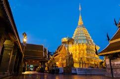 Wat phathat doi suthep Royalty-vrije Stock Fotografie