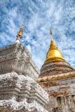 Wat Phaya Phu in the city of Nan, Thailand. Stock Photo