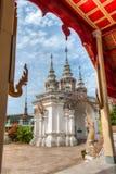 Wat Phaya Phu nella città di Nan, Tailandia Immagine Stock Libera da Diritti