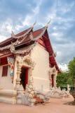 Wat Phaya Wat alla città di Nan, Tailandia Fotografie Stock Libere da Diritti