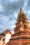 Wat Phaya Wat alla città di Nan, Tailandia Fotografie Stock