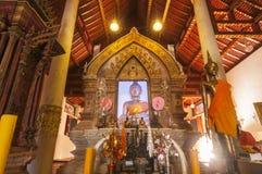 Wat Phaya Wat, Nan, Tailandia Immagini Stock
