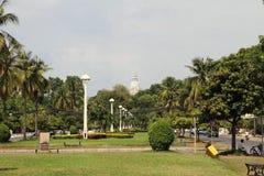 Wat phnom在金边 库存图片