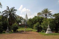 Wat phnom在金边 免版税库存图片