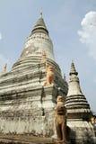 Wat phnom在金边 库存照片