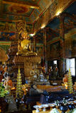 Wat Phnom - bergpagod - Phnom Penh Royaltyfria Bilder