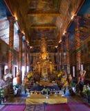 Wat Phnom in Kambodscha Stockbild