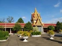 Wat Phnom, Kambodscha stockfotos