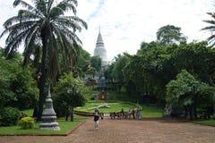 Wat Phnom, Phnom Penh, Kambodża Fotografia Stock