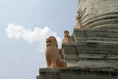 Wat phnom in Phnom Penh Royalty Free Stock Images